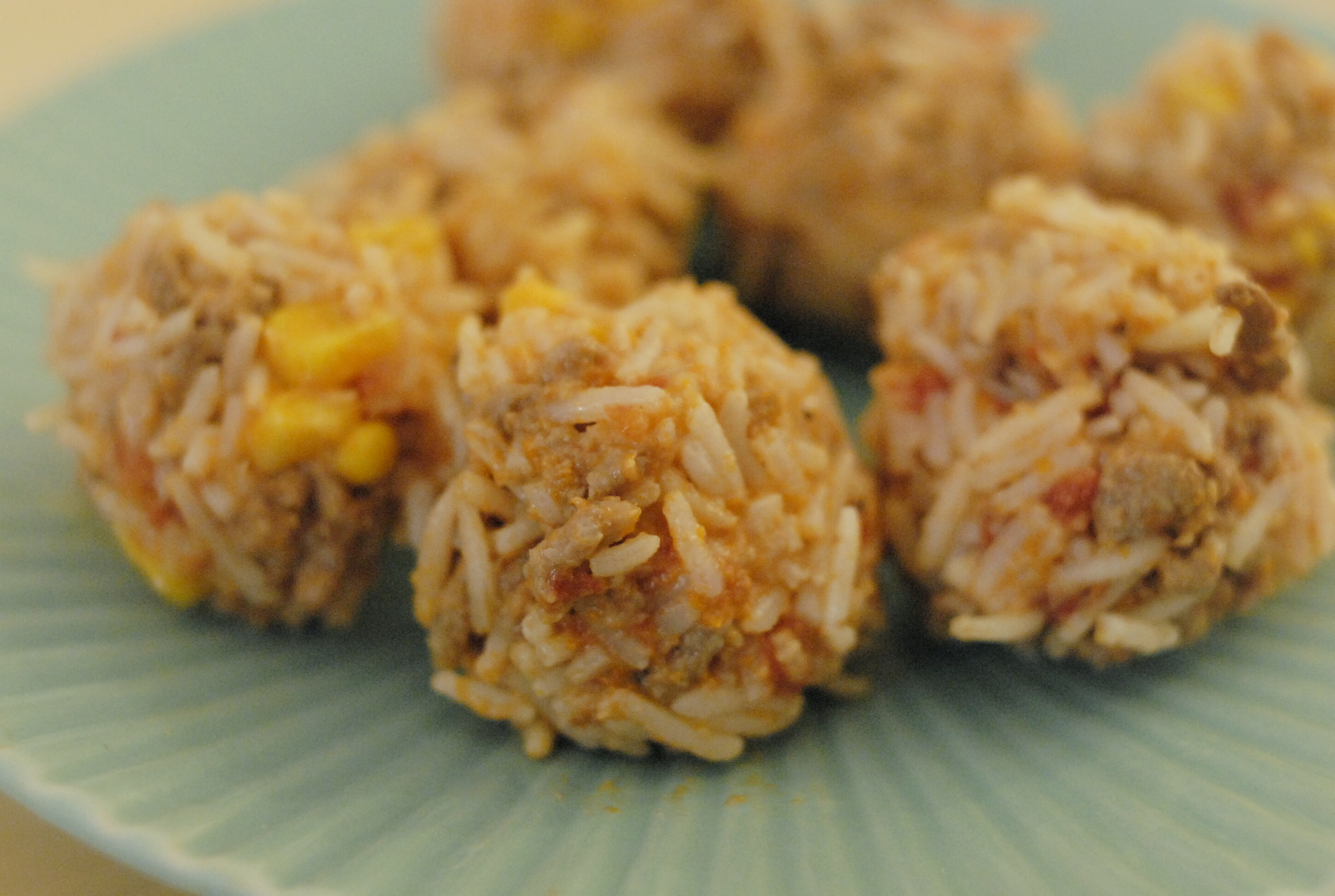 how to cook rice balls