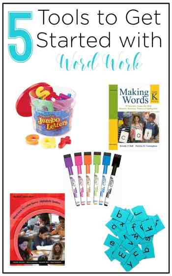 These resources are essential to word work, or word study, during your reading block when using a balanced literacy approach. See how this teacher implements it into her day and grab the freebie!