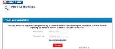 Hdfc Credit Card Application Status :: Track My Hdfc Bank Credit Status (Enquiry Number ...