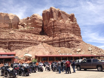 Twin Rocks Cafe, Bluff Utah