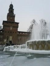 Milan's Castella Sforzesco - copyright Sara Rosso