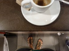 Espresso stop on an Italian road trip