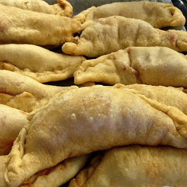 Panzerotti fried at home, on Ms. Adventures in Italy by Sara Rosso
