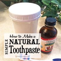 How to Make a Simple Natural Toothpaste
