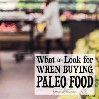 Buying Paleo Food
