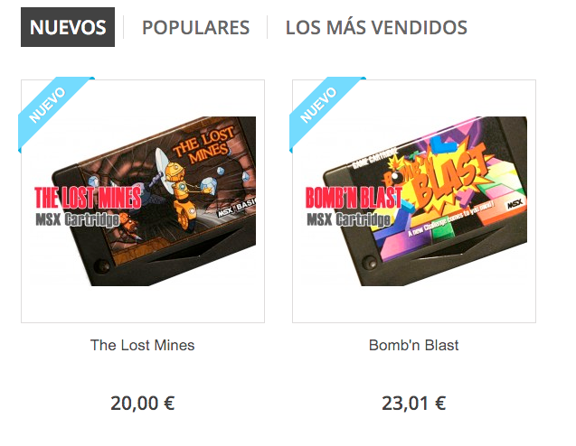 Bomb'n Blast y The Lost Mines - Repro Factory MSX Shop