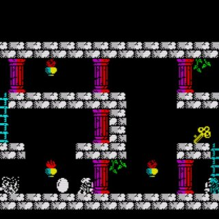 Spin-off the The Maze of Galious para ZX Spectrum