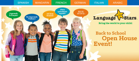 Language Stars: Back-to-School Open House Event