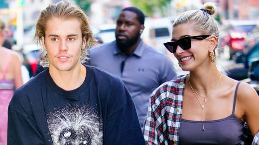 Justin Bieber and Hailey Baldwin Are In  No Rush  To Have Babies     Hailey Baldwin shows off her massive engagement ring from Justin Bieber