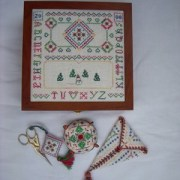 Christmas Time Sewing Box