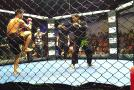 Phetsingkorn Sit Kru Praeng Fight in MMA CAGE WAR 1