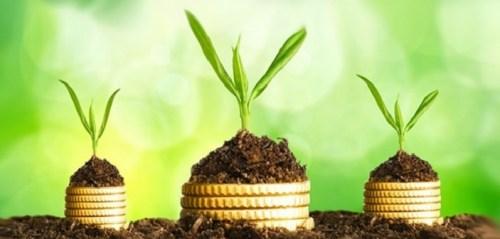descripción gráfica de los ingresos pasivos y su crecimiento