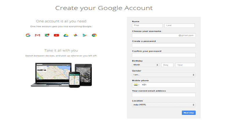 Gmail Sign Up|Create Gmail Account {www.gmail.com signup