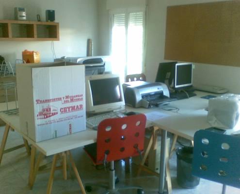 Mudanzas de oficinas