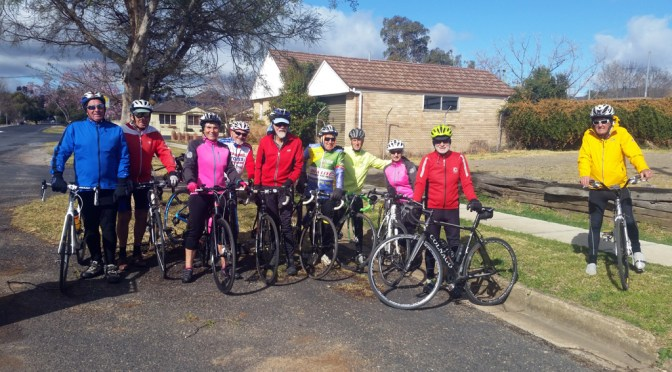 Mudgee weekly riders group