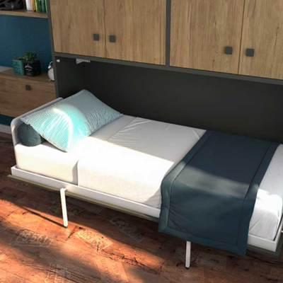 cama abatible cross abierta