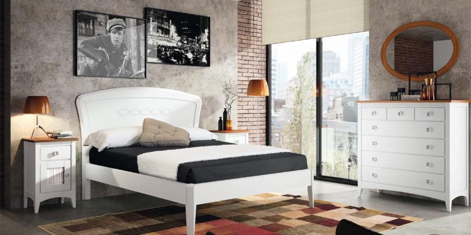 Dormitorio Garbo Romantic