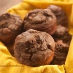 Gluten-Free Chocolate Banana Protein Muffins