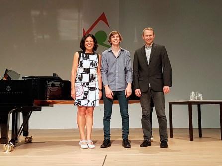 Philip Woloch, 3. Preis Sologesang, AG III+