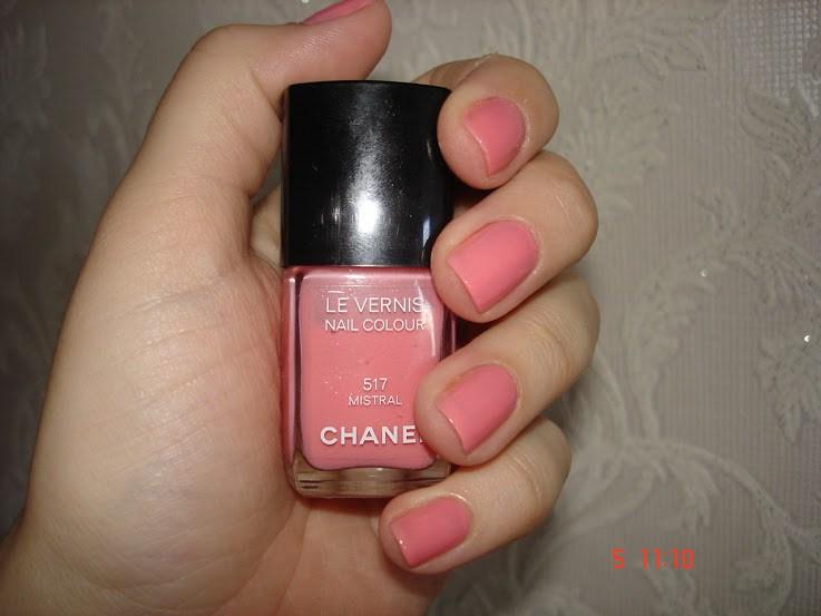 Chanel Mistral esmalte rosa resenha swatches
