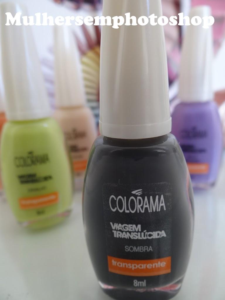Esmaltes Colorama - Viagem Translúcida