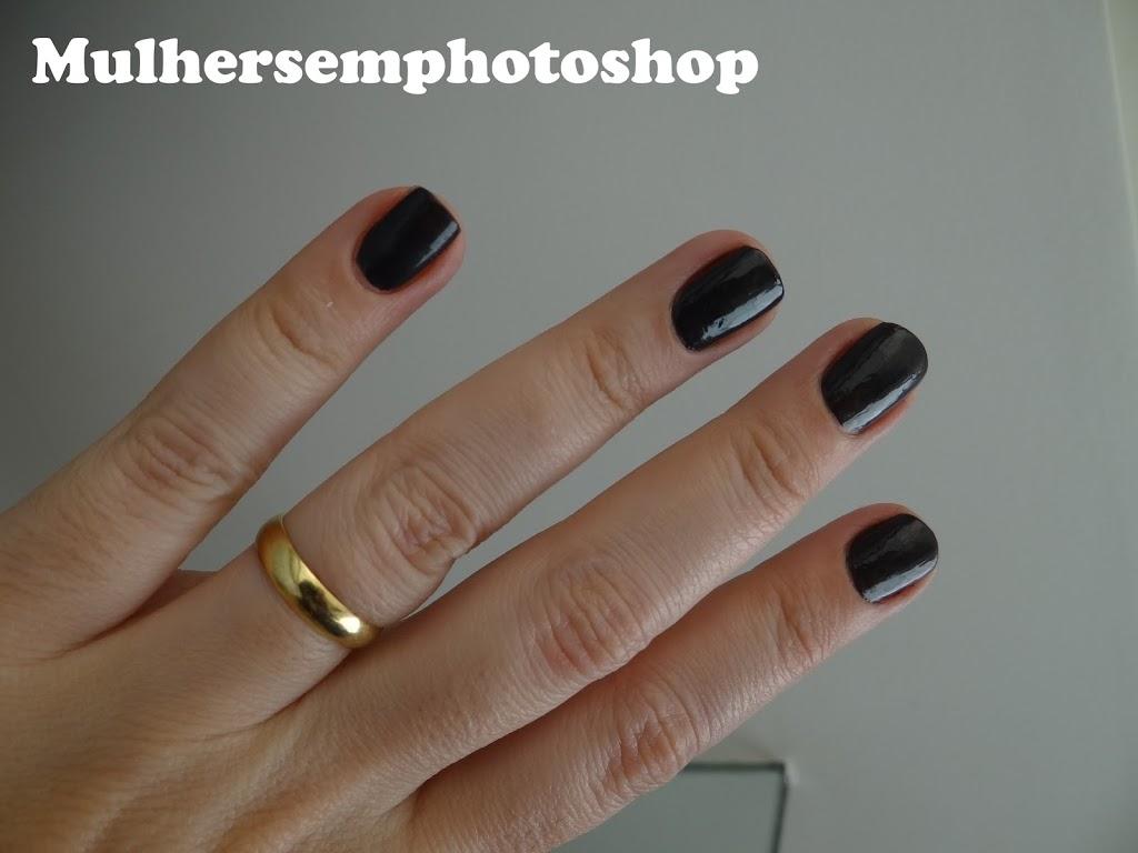 Arranha Céu  esmalte colorama resenha swatch amostra  esmalte cinza escuro