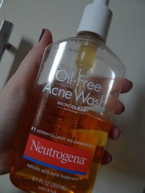 Oil Free Acne Wash Neutrogena - 2 resenhas em um post!
