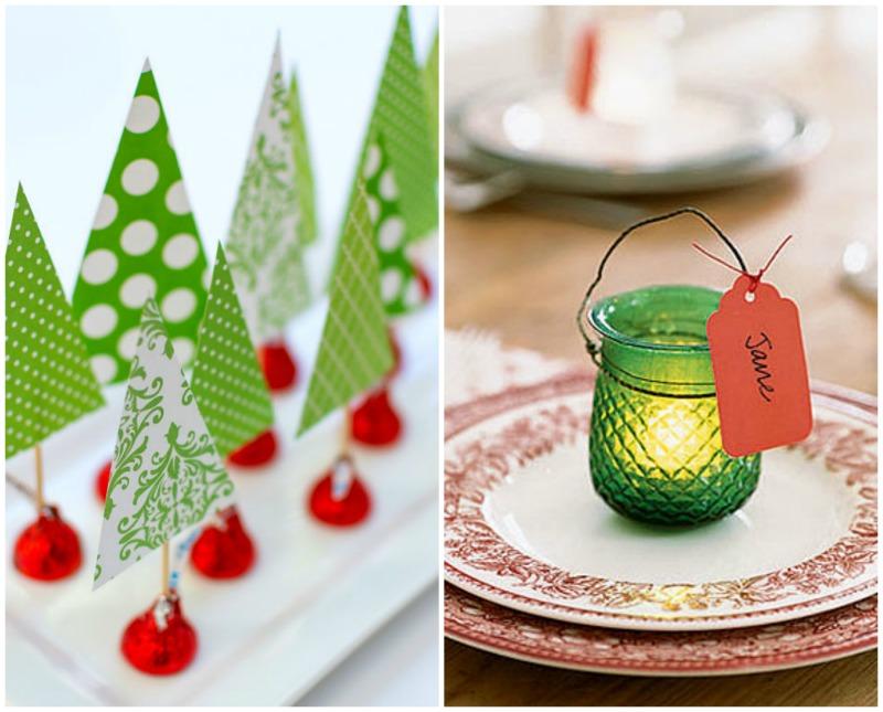 20 ideias para mesa de Natal