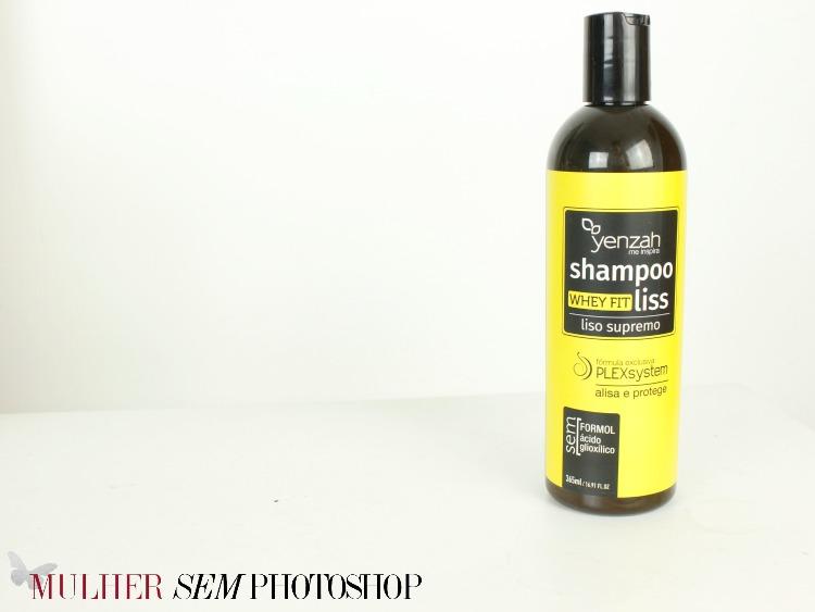 Whey Fit Liss - shampoo alisante da Yenzah - resenha