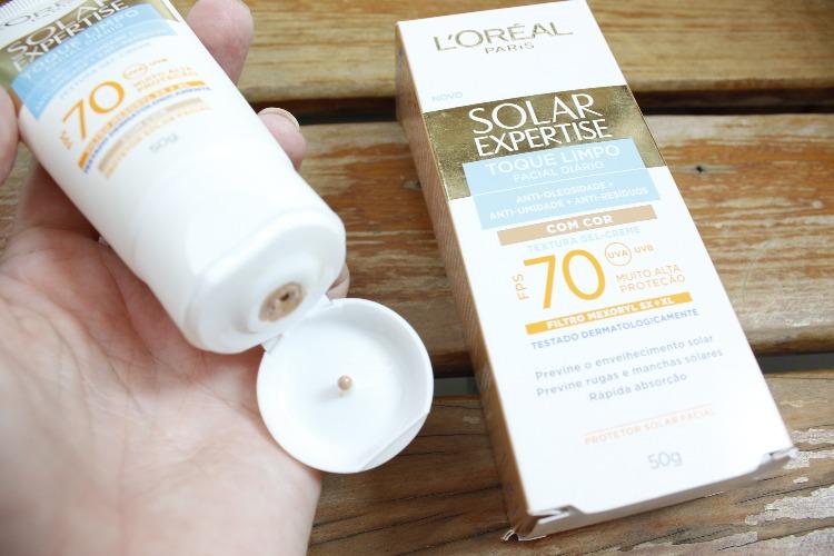 Solar Expertise Com cor Loreal - resenha