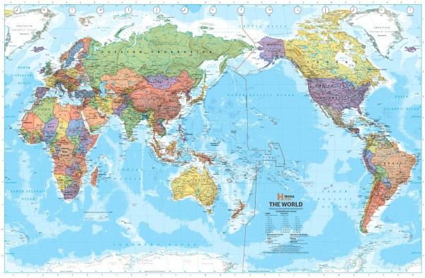 regiões do mundo