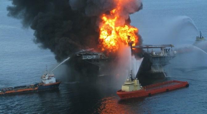 Deepwater Horison offshore drilling unit
