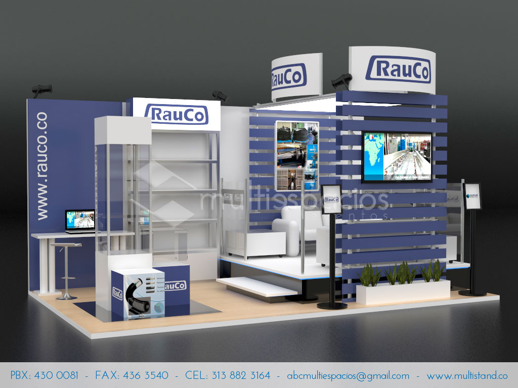 Stand 5m x 3m