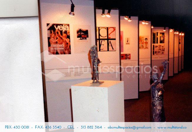 Panelería para exposiciones