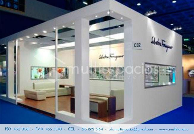 Stand confortable, diseño de Stands  y alquiler en Bogotá