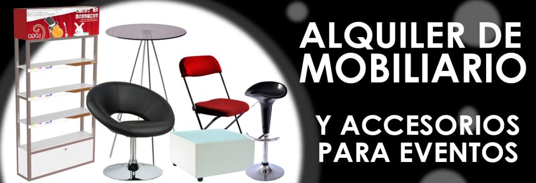 Venta y alquiler de mobiliario