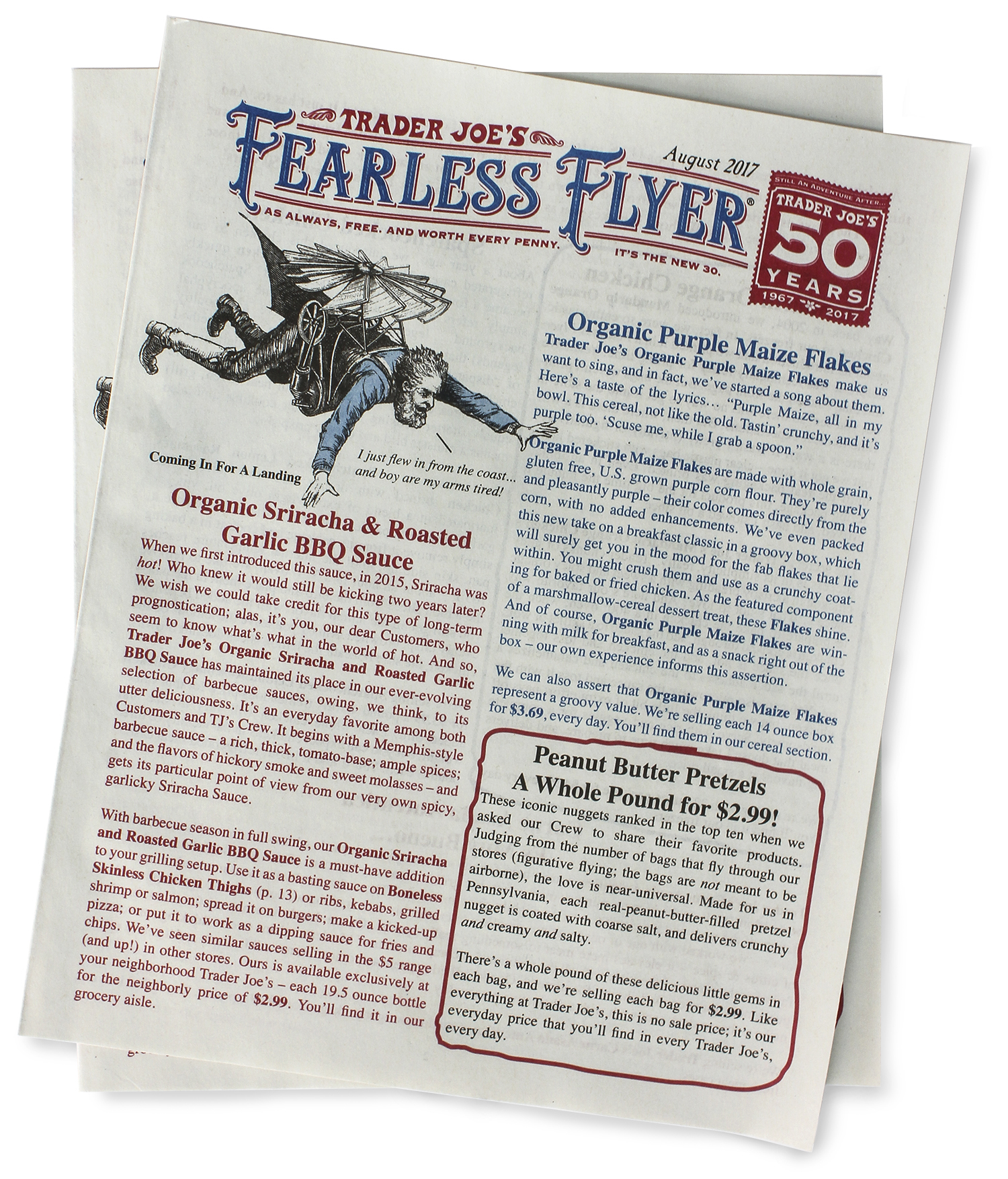 Affordable Serving By Newswire Trader Joe S Fearless Flyer April 2018 Trader Joe S Flyer September 2018 Trader Joe S Flyer Trader Joes Celebrates Years nice food Trader Joes Flyer