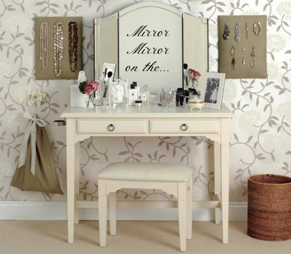 Dressing table beautiful mummy