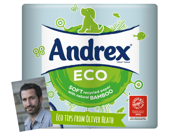 eco tips from designer oliver heath andrex