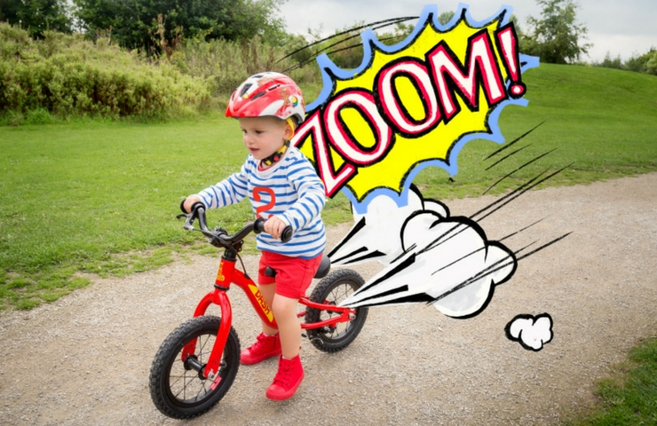 Win a Dash balance bike from Raleigh (worth £100)