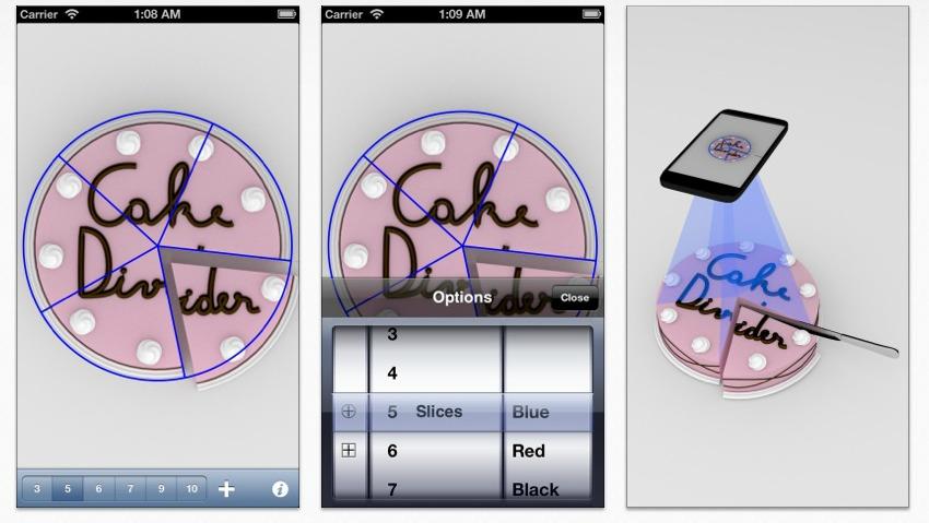 Cake Divider App