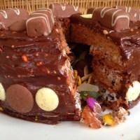 Cadbury's Marvellous Mix Ups Pinata Cake #freethejoy