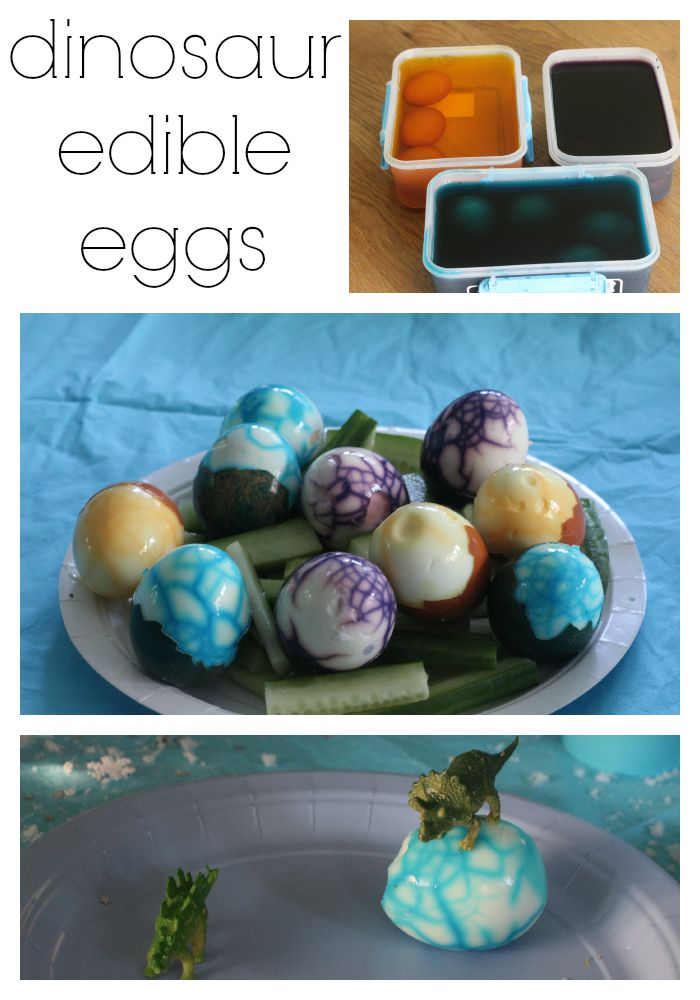 dinosaur edible eggs