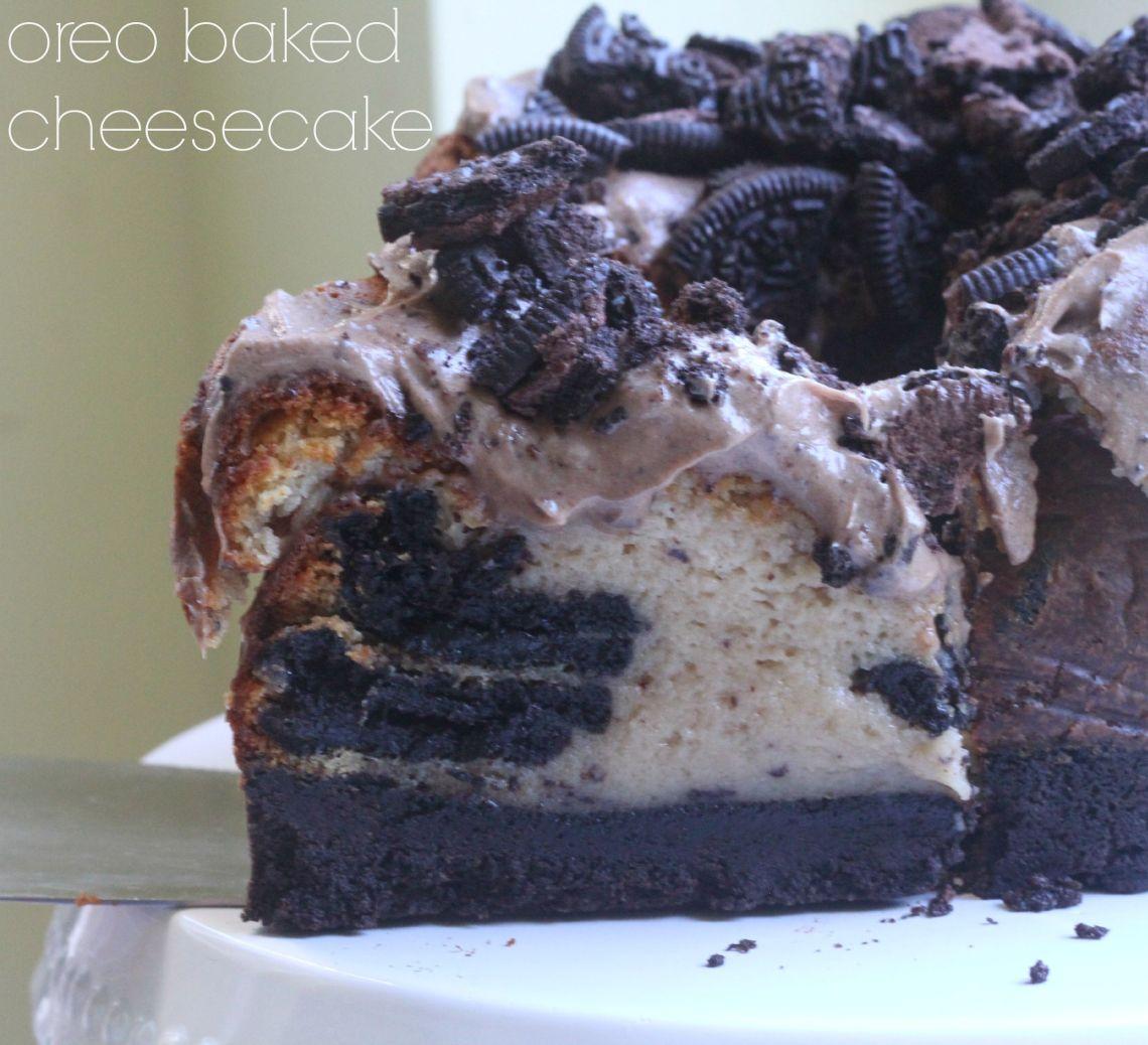 oreo baked cheesecake