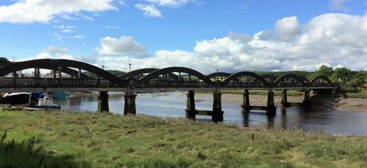 Kircudbright bridge