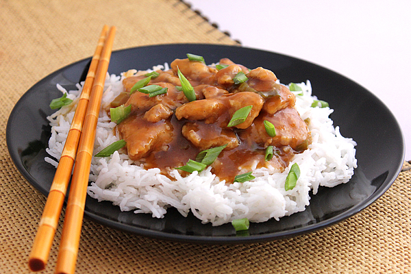orange chicken low calorie