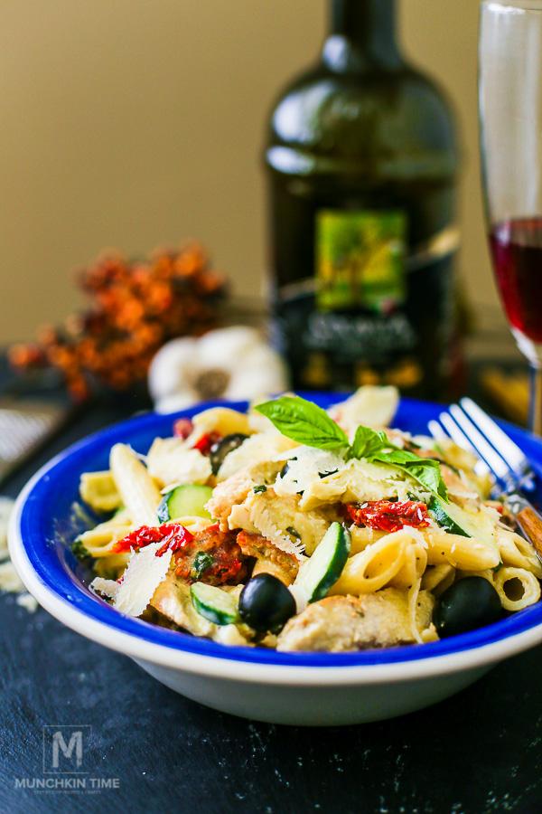 Irresistible Italian Pasta Salad Recipe - From Munchkin Time