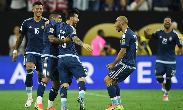 Messi Free Kick Celebration