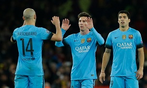 Lionel Messi Javier Mascherano