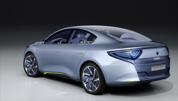 Renault Fluence electrico 6